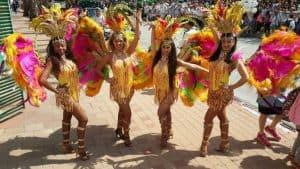 מופעי ריקוד ברזילאים