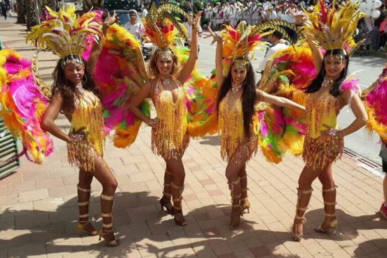 להקת רקדניות ברזילאית לארועים